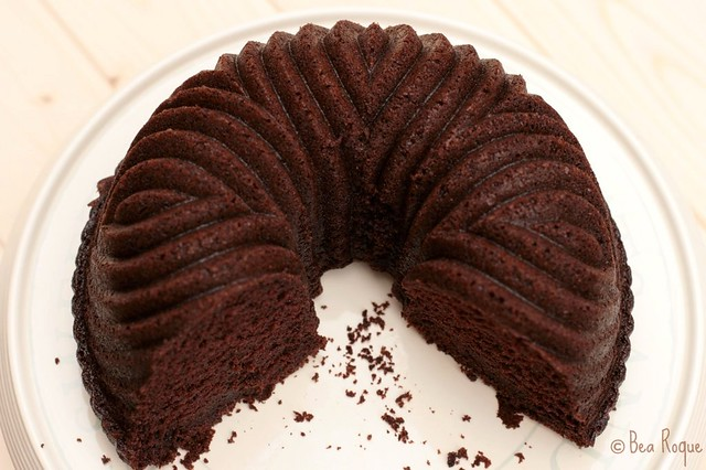 The darkest Chocolate Cake ever