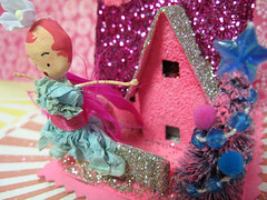 Sugar Pink Fairy House!