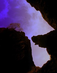 at Gordale Scar (perseverando) Tags: silhouette yorkshire valley glacial gordalescar perseverando