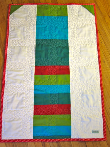Advent Calendar #2 Quilted Back