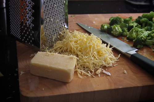 cheese broccoli