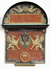 Heraldry (baruchova) Tags: heraldry palace griffin hofburg rampant