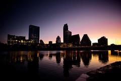 Austin Sunrise (ERT) Tags: city morning color sunrise austin rising nikon cityscape texas waterfront capital nikkor scape texassunrise d700 160350mmf40 austinsunrise