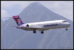 PHOG Hawaiian Air Boeing 717-2BD Po'ouli N489HA (djlpbb40) Tags: club hawaii aircraft maui hawaiian hal ha boeing 717 ogg phog the kahului 712 hawaiianair 717200 kahuluiairport 7172bd n489ha poouli