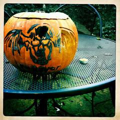 Avenged Sevenfold pumpkin (Anastasia Sofia) Tags: halloween matt pumpkin jack shadows christ o jimmy m johnny lantern sullivan rotten mould rev zacky sanders a7x mouldy vengeance avenged sevenfold