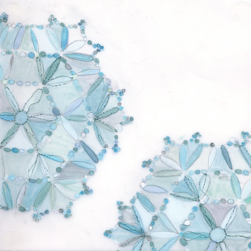 doily no.85 blue
