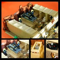 Temple of Set 2 (Puriri deVry) Tags: set temple jackal desert lego egypt johnny quest thunder anubis adventurers pharaohs