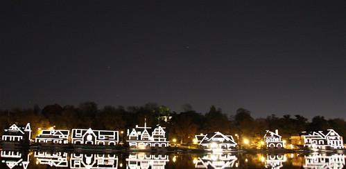 Boat house row - Philadelphia, PA