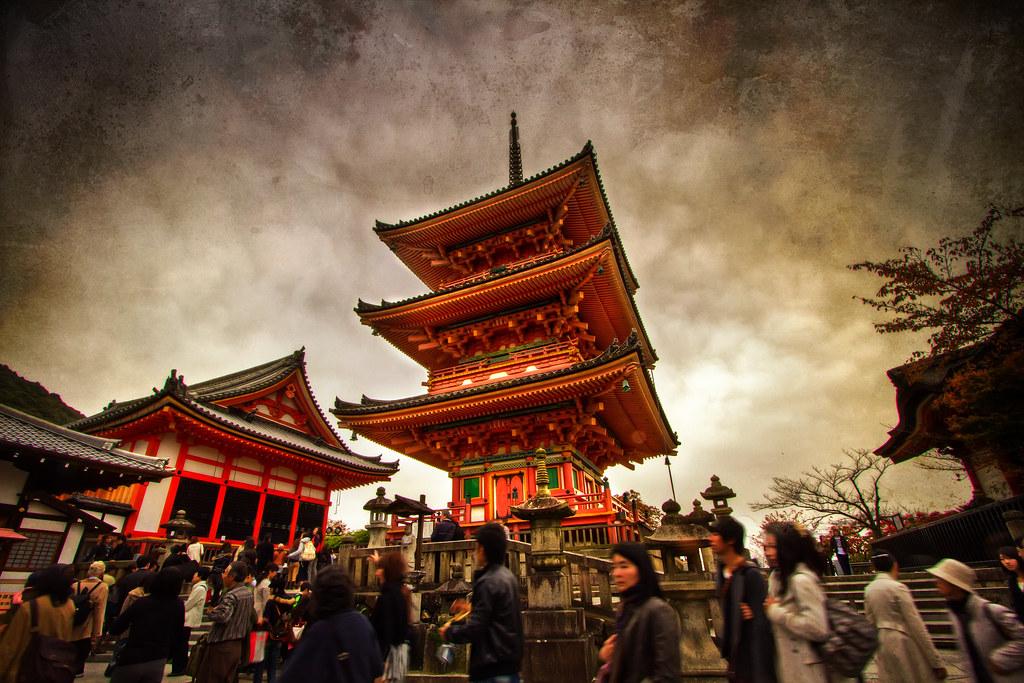 Pagoda of Kiyomizu-dera