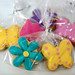 mini flower cookies