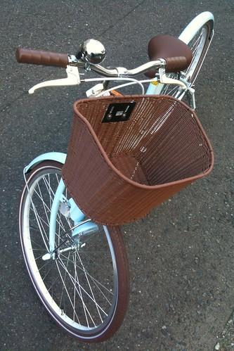ポンポネットの自転車