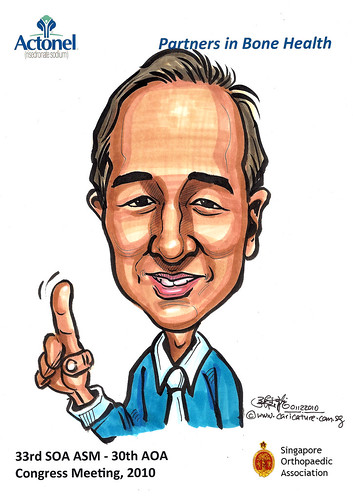 Caricatures for Sanofi-Aventis - 2