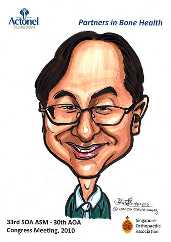 Caricatures for Sanofi-Aventis - 19