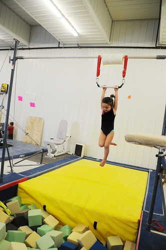 First gymnastics class