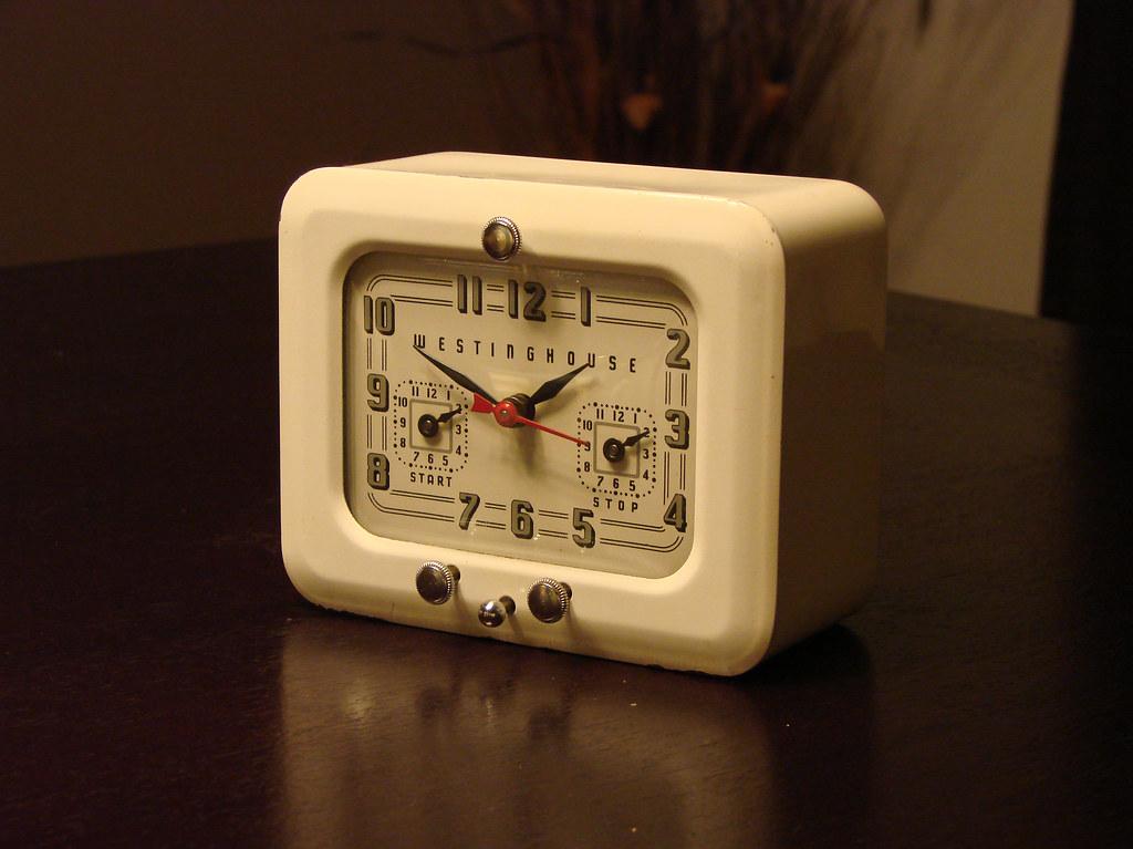 Westinghouse Kitchen Clock / Timer TC-81 (1940's -1950's)