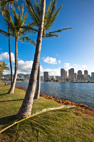 Ala Moana Park and Waikiki on Flickr
