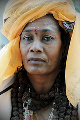 Sadhvi (Leonid Plotkin) Tags: woman india asia traditional religion tradition hindu hinduism mystic sadhu ascetic kedarnath sadhvi holywoman