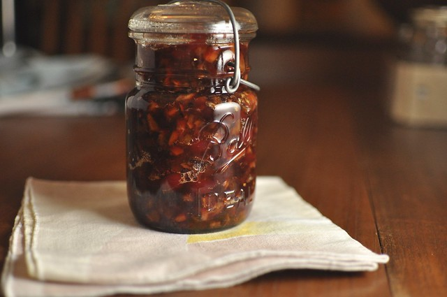 cranberry chutney with dried apricots