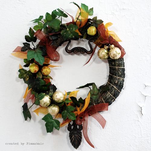 Wianek świateczny - Christmas wreath
