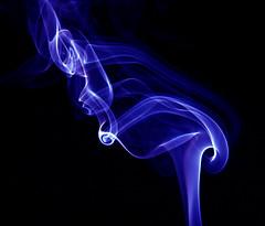abstract smoke blue (Dan Chandler) Tags: abstract color colour art smoke creative experiment