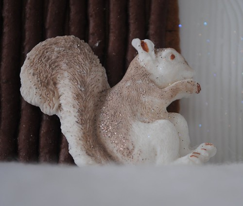 Dusted & glitter iced squirrel