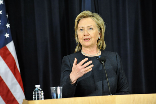 Secretary Clinton Delivers Remarks at the Human Rights Day Town Hall Mee