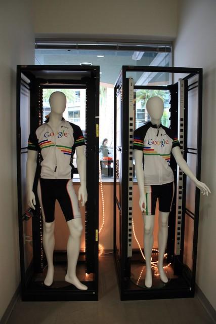 Server Racks and Biking Clothes