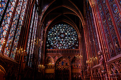Sainte Chapelle from Paris-42 (christian_jacquet) Tags: paris france church louis king catholic religion gothic 9 stainedglass saintlouis blanche gothique chapelle saintechapelle roi 1242 architecte vitraux moyenage castille catholique architec 1248 pierredemontreuil royaute middleadge windowscarlzeiss