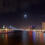 Rotterdam City @ Moonlight