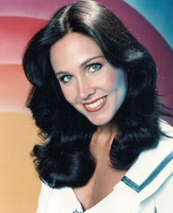 Actress Erin Gray