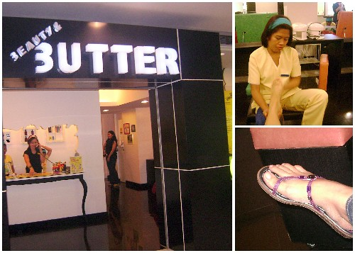 Beauty & Butter SM Megamall, nail treatment