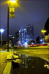 (Kyle.Maxwell) Tags: california city urban skyline night san downtown nightlights sandiego cityscapes diego citycollege sandiegoskyline