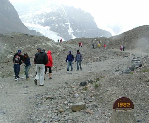 Athabasca Glacier 1982