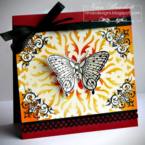 Buttefly stencil