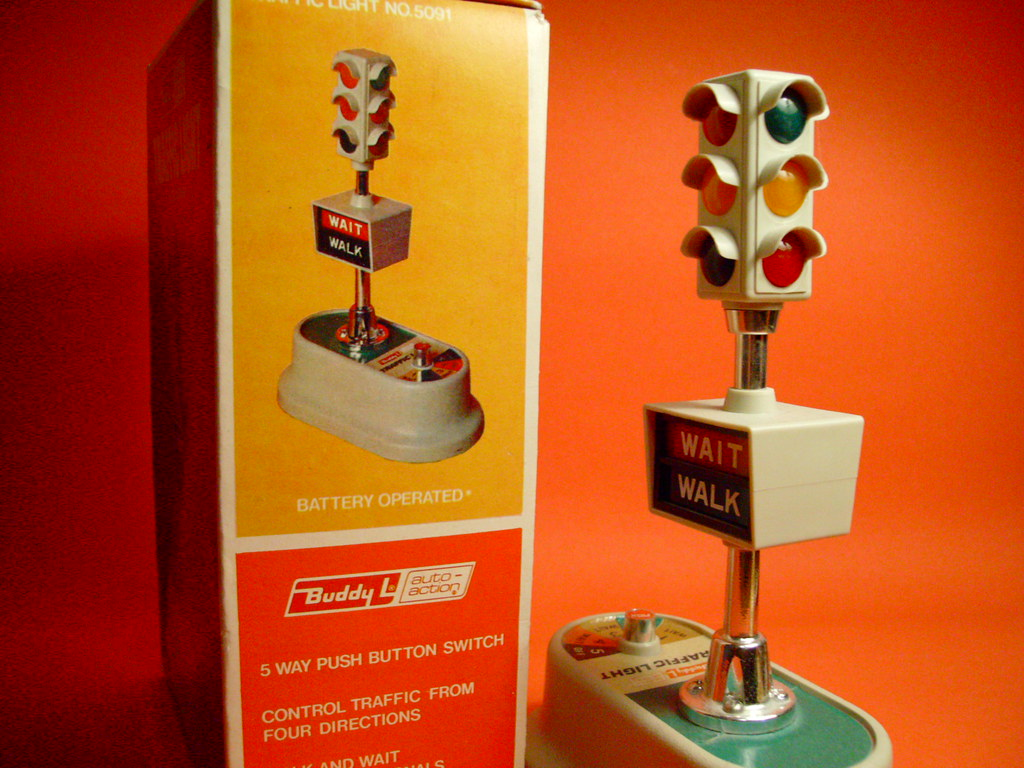 one of the best toy traffic lights ever manufactured