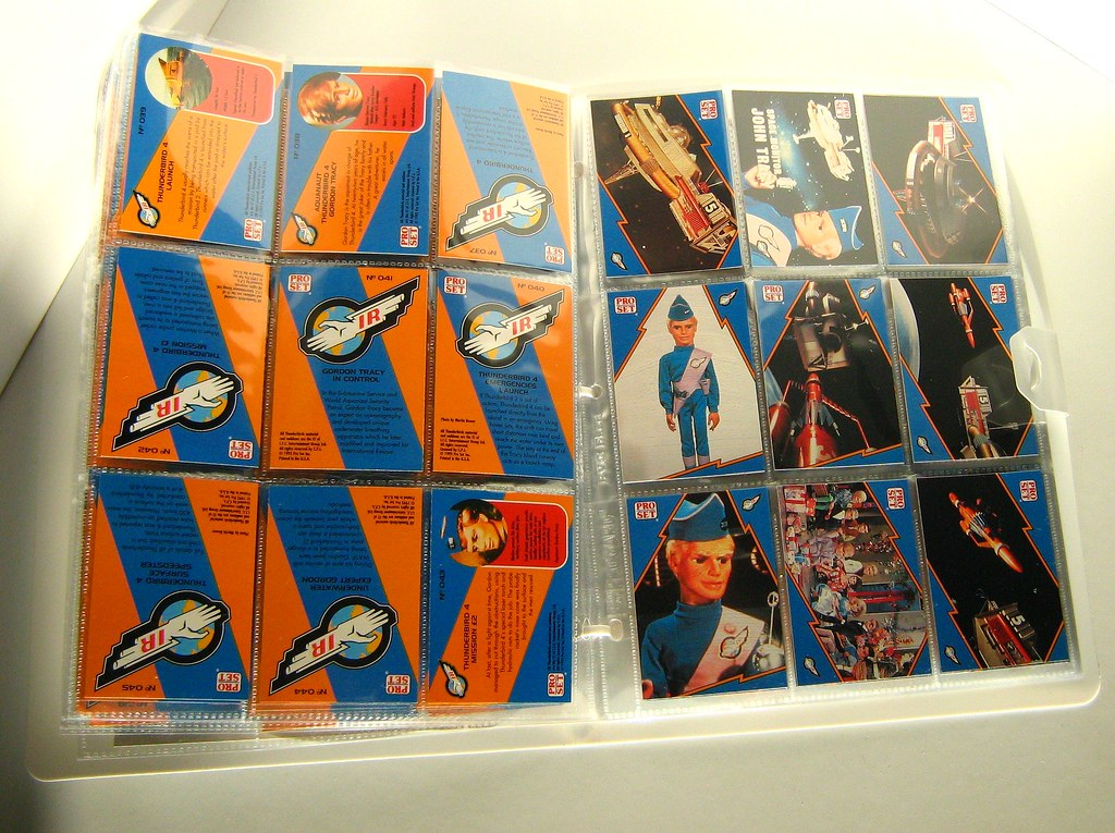 Pro Set: Official Trading Cards (1992): Thunderbirds: Complete Binder Set (Double Set) - 11 of 15