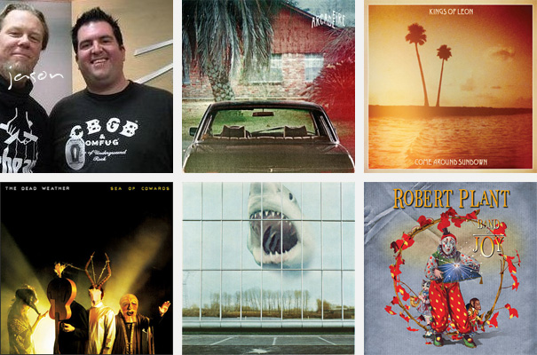 Top 5 Albums of 2010 - Jason Manning