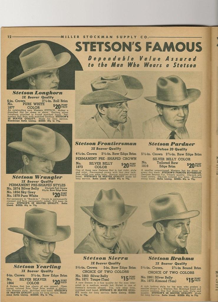 Miller-Stockman Catalogs | The Fedora Lounge