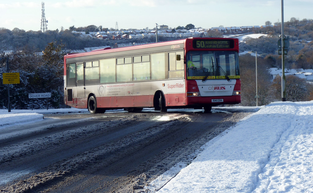 Plymouth Citybus 041 X141CDV