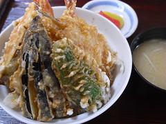 一那「天丼」(700円)