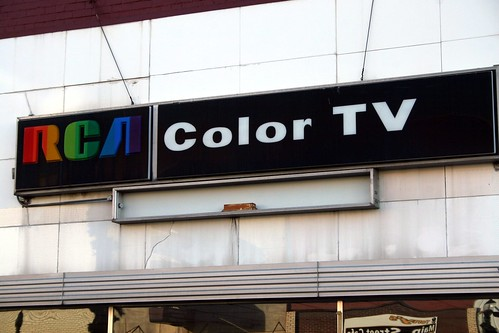 rca color tv