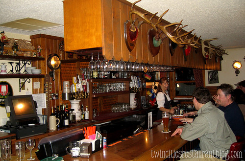 Bar at Gasthaus Bavarian Hunter ~ Stillwater, MN
