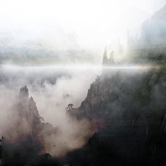 The Mists of Avalon (E Dina PhotoArt) Tags: fantasy edina ourtime sailthesevenseas artdigital idream shockofthenew themistsofavalon redmatrix selectbestfavorites selectbestexcellence premadebackground sbfmasterpiece