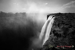The Smoke that Thunders (country_boy_shane) Tags: africa longexposure travel trees blackandwhite bw mist nature wet water beautiful beauty grass waterfall big amazing rocks mother roots mammoth huge current vapor tim