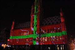 Christmas lights at Grand Place, Brussels