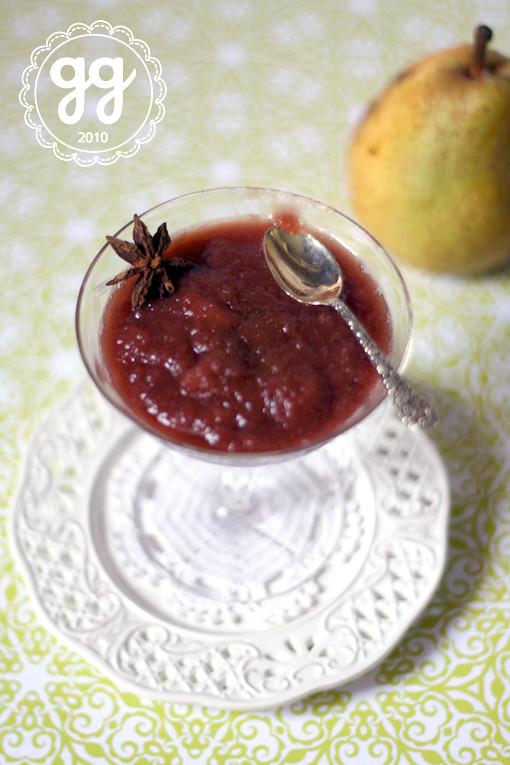 Mousse di pere speziata