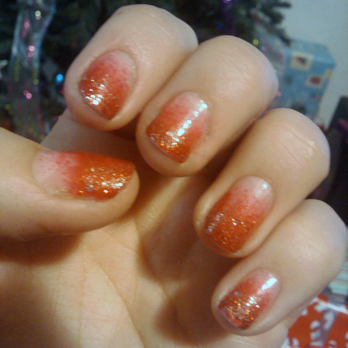 holiday ombre