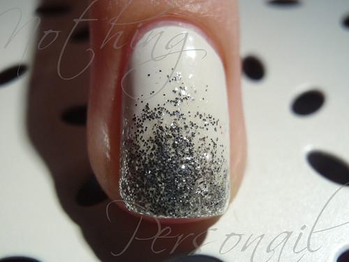 ChG White on White & Elianto Glitter Silver