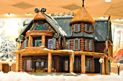Gingerbread Mansion by Marshall at Mystic Lake Buffet ~ Prior Lake, MN