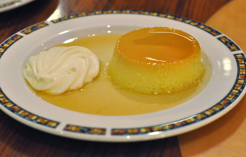 Caramel Custard at Mystic Lake Buffet ~ Prior Lake, MN
